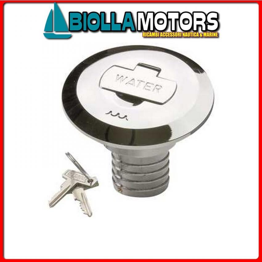 4043085 TAPPO KEY FUEL D.50 Tappi di Coperta Key-Lock Cromati