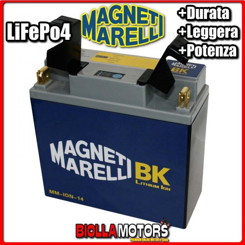 // 12N20AH-BS // CP1812 // 51913 // 12N20AH MM-ION-14 Lithium Battery for Motorbike 12N16AH 52015 51814