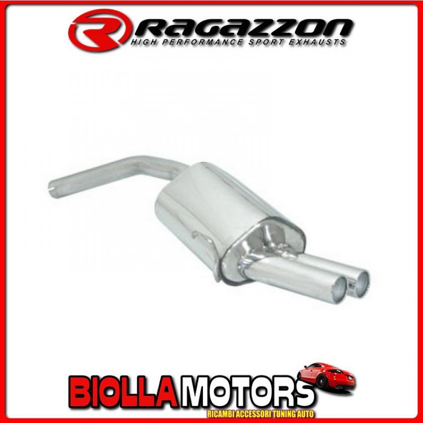 58.0182.26 SCARICO Evo Alfa Romeo GT(937) 2003>2010 2.0 JTS (122kW) 2004> Posteriore inox con terminali rotondi 2x80 mm sfalsati