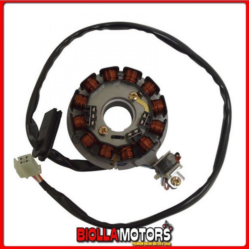 163082 STATORE COMPLETO HM CRE Derapage Basic 50CC 2010/2011 12 poli c/pick-up c/piastra