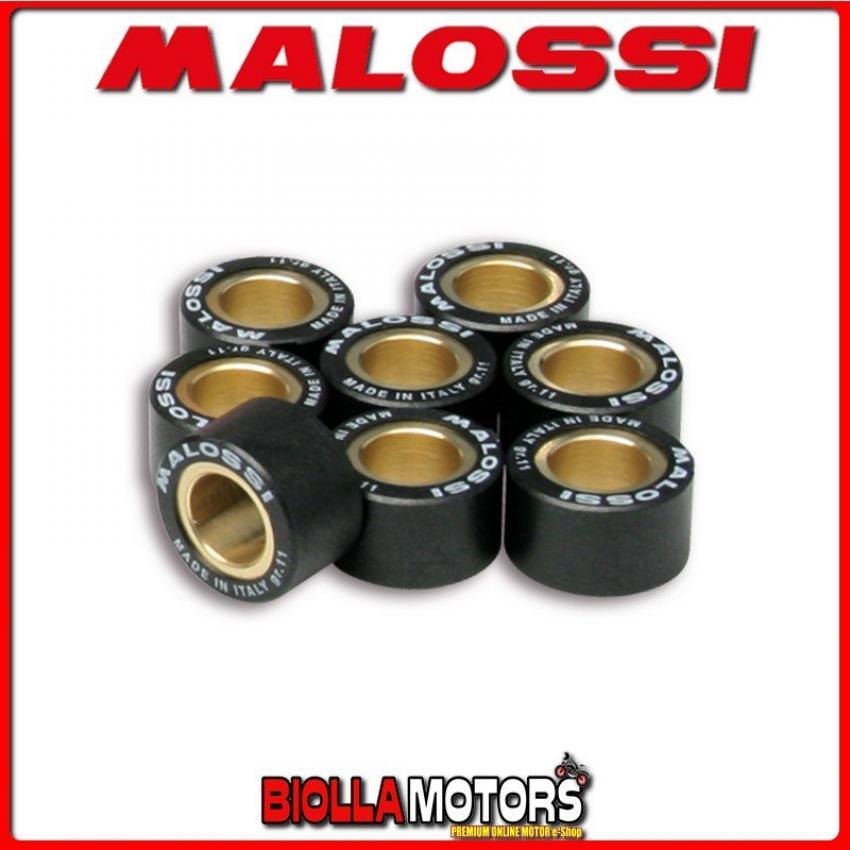 669919.M0 8 RULLI VARIATORE MALOSSI D. 20X12 GR. 14,5 APRILIA LEONARDO 300 4T LC - -