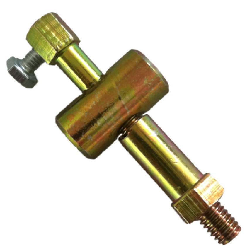 DR47008 Registro - Morsetto per filo o cavo PIAGGIO -?diam. Filet. 5,8 mm -.lung. 57 mm. (9 + 48) - dado 7 mm. - dado reg. 10 m