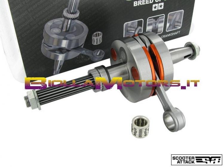 S6-7914003 ALBERO MOTORE STAGE 6 R/T MKII RACING SPIN.12, BIELLA 80 PIAGGIO