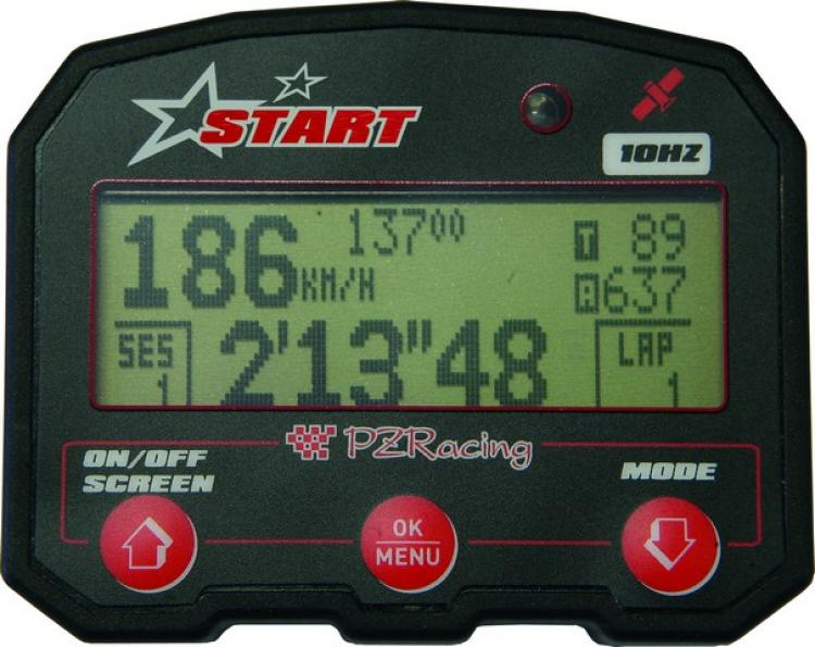 ST100E STRT EVO GPS Lap Timer with data acquisition multi channel