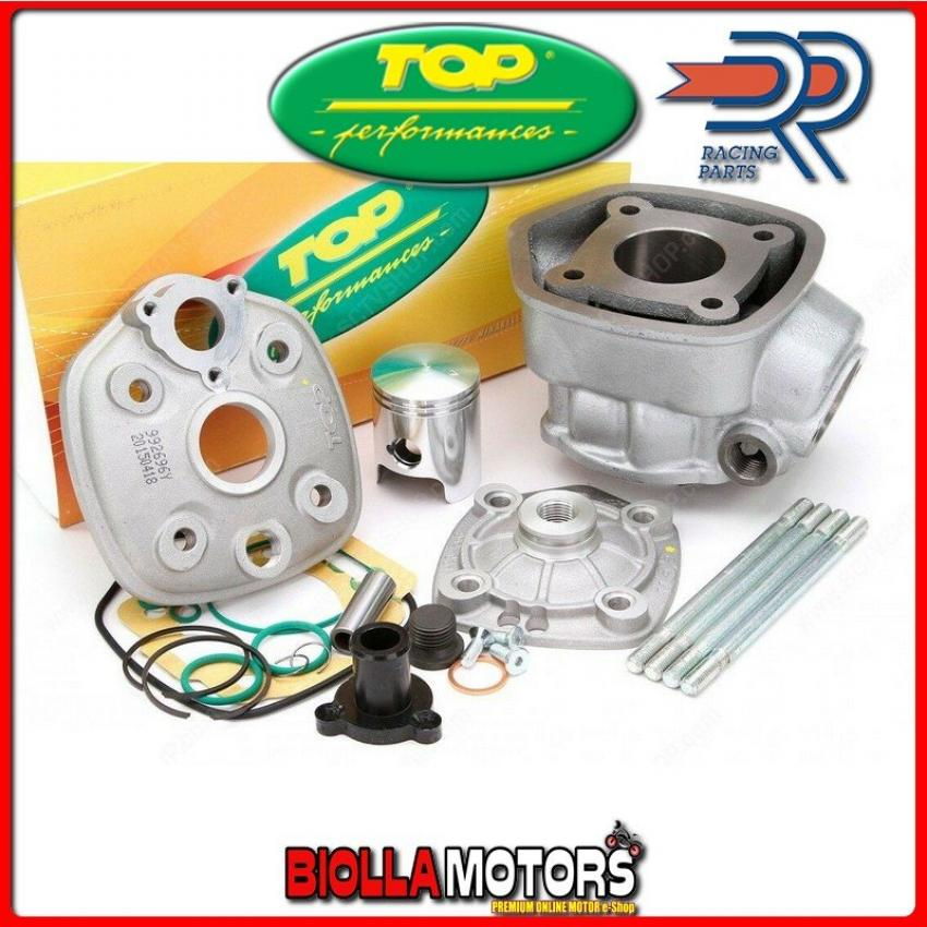 9927100 GRUPPO TERMICO TOP 50CC D.39,88 DERBI SENDA SM X-RACE EU2 50 2T 2006-2006 LC LIQUIDO GHISA 7 TRAVASI