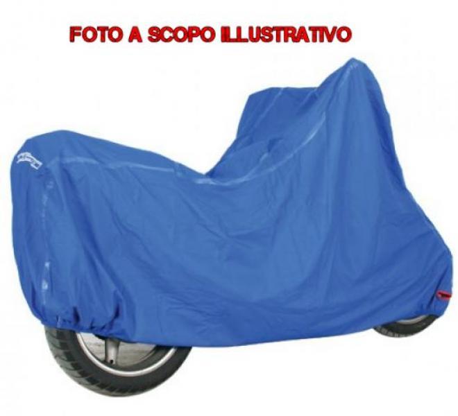 C013-00E MOTORRAD ABDECKUNG C13 BLAU MISURA XL WASSERDICHT