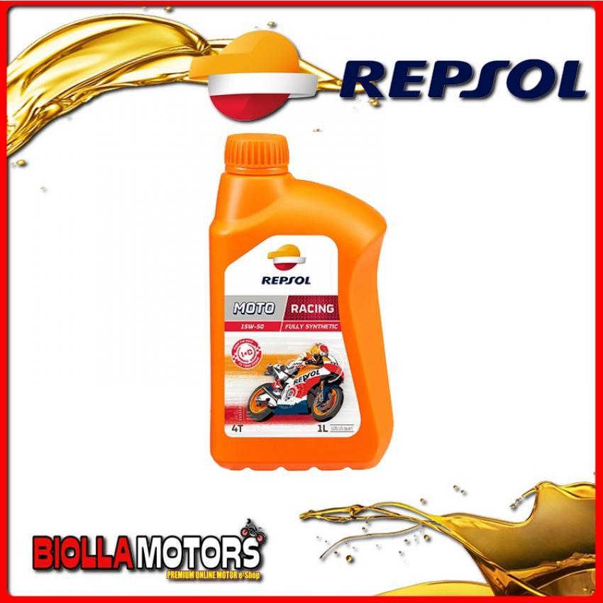 RP160M51IT 1 LITRO OLIO REPSOL MOTO RACING 4T 15W50 1LT