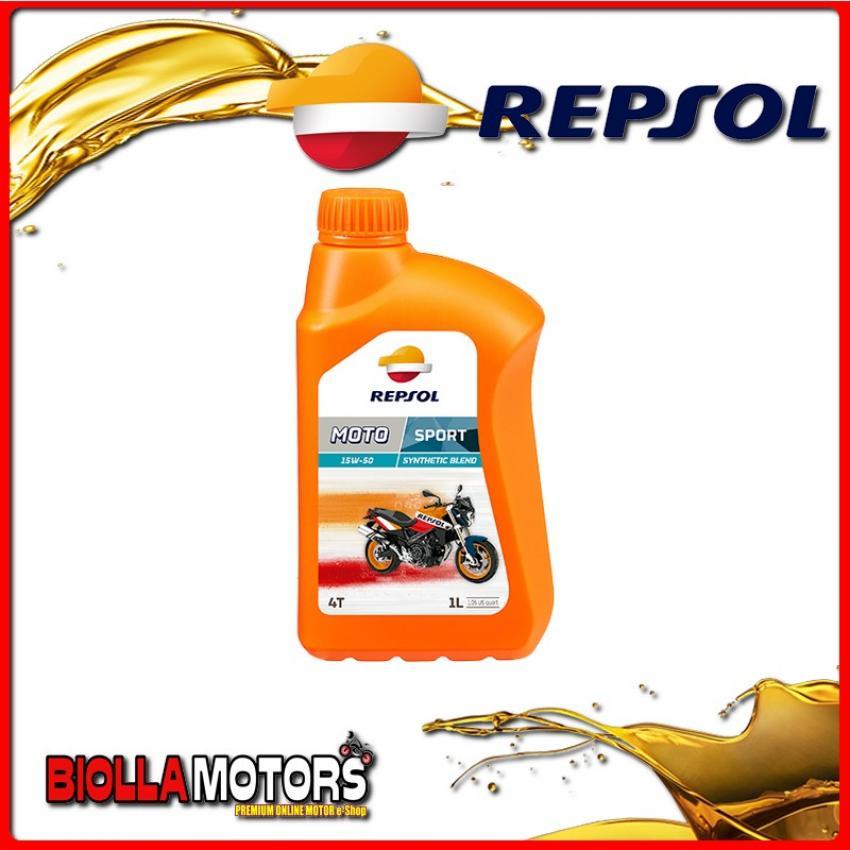 RP180M51IT 1 LITRO OLIO REPSOL MOTO SPORT 4T 15W50 1LT