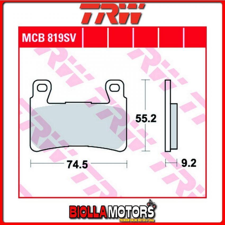 TRW MCB781SV Pastiglia Freno