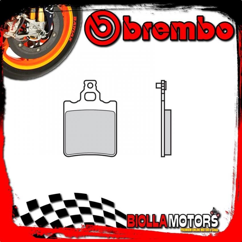 07BB1305 FRONT BRAKE PADS BREMBO FRIGERIO PUCH CROSS 1985- 125CC [05 - ROAD CARBON CERAMIC]