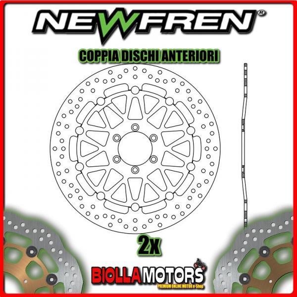 2-DF5152AF PAAR VORDERE BREMSSCHEIBEN NEWFREN BIMOTA YB7 400cc 1989- SCHWIMMENDE