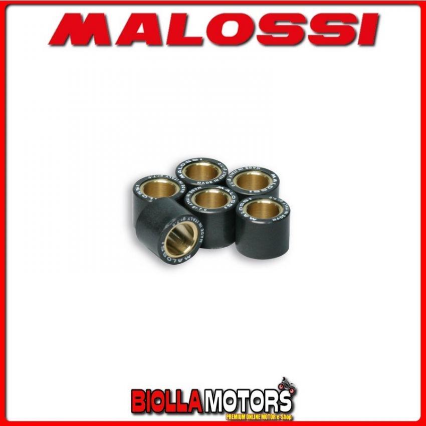669823.I0 6 rulli RULLI VARIATORE MALOSSI ? 16x13 gr. 5,1 HONDA SGX SKY 50 2T - -