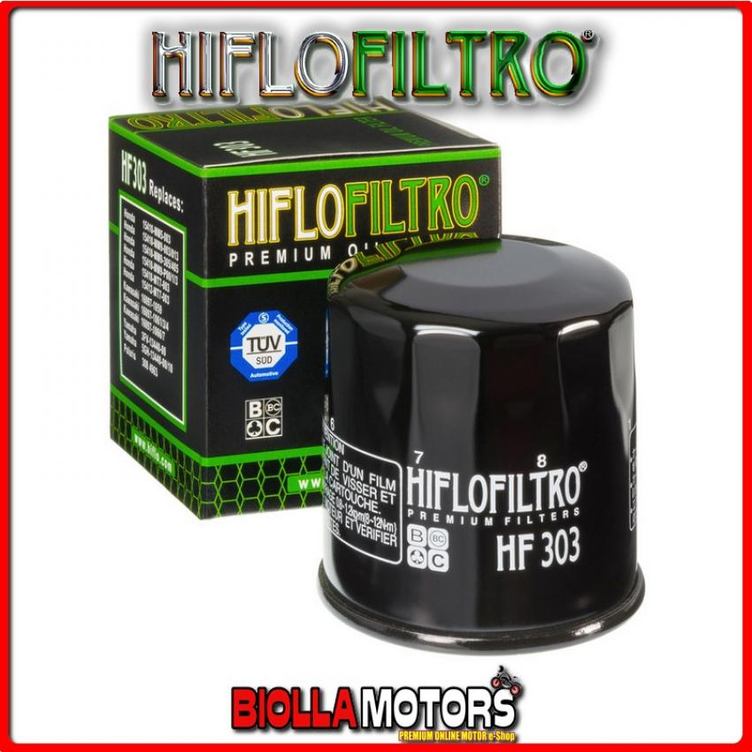HF303 FILTRO OLIO HONDA NTV600 J,K,L,M 1988-1992 600CC HIFLO