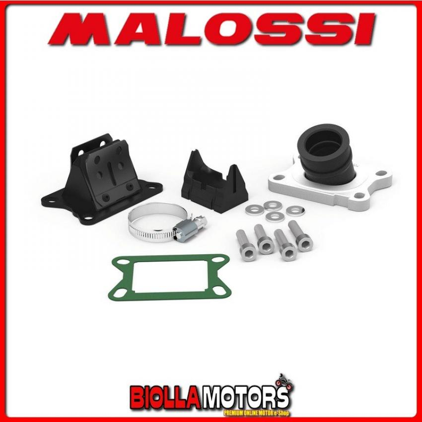 2013800 KIT COLLETTORE ASPIRAZIONE MALOSSI inclinato X360 ? 21 - 24,5 MBK X-LIMIT 50 2T LC (MINARELLI AM 6) e lunghezza 27 in FK