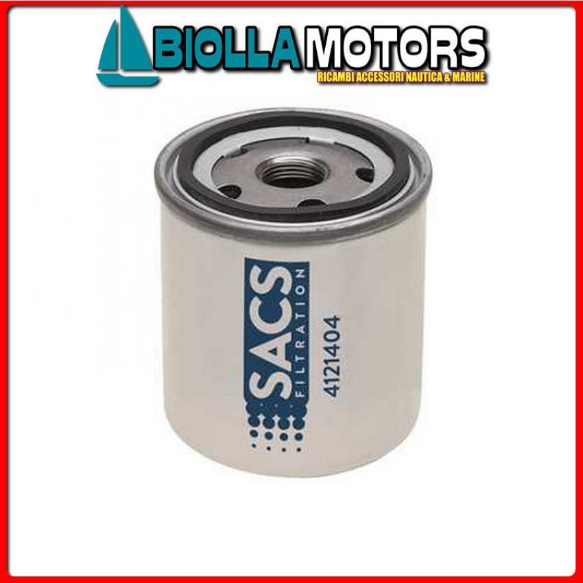 4121404 CARTUCCIA DIESEL V-861477C< Filtro Gasolio Sacs per Motori MD20../D1../D2..