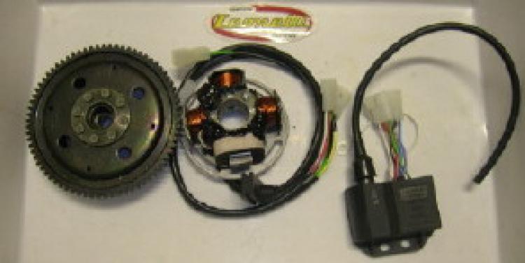 016.T4K ACCENSIONE ANALOGICA LEONELLI per motori AM6 con avviamento elettrico