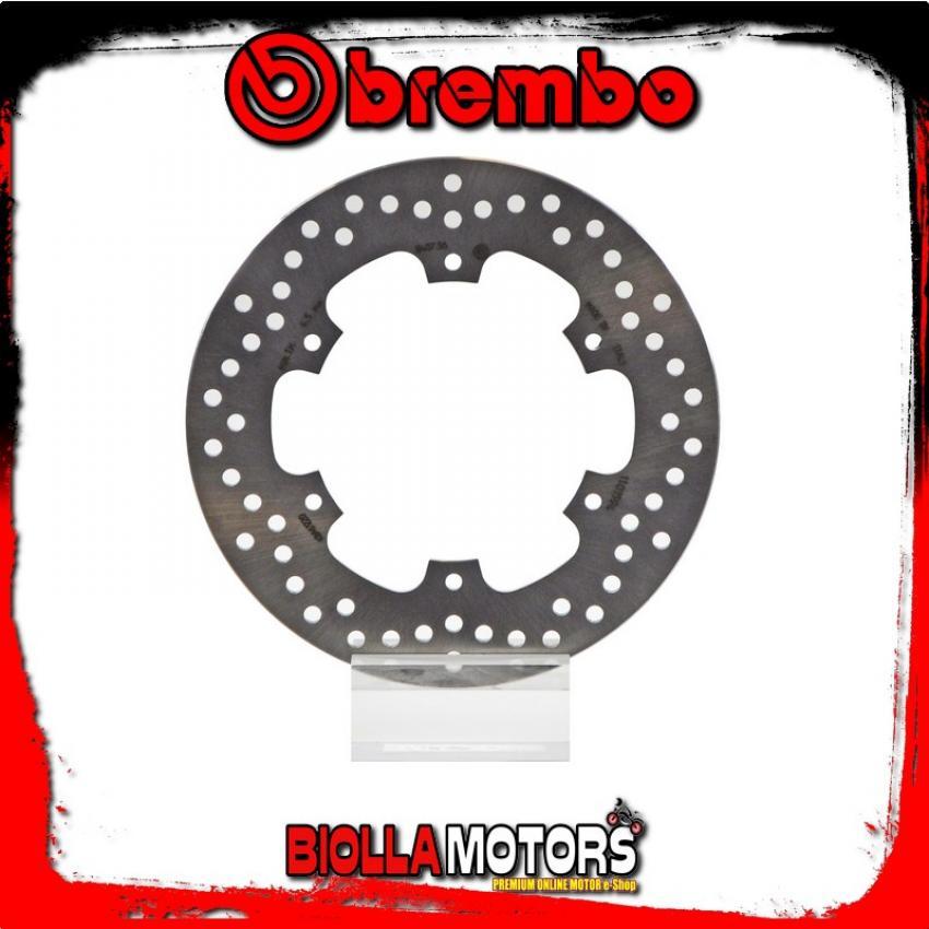 68B40756 DISCO DE FRENO TRASERO BREMBO HRD GS 1997- 125CC FIXED