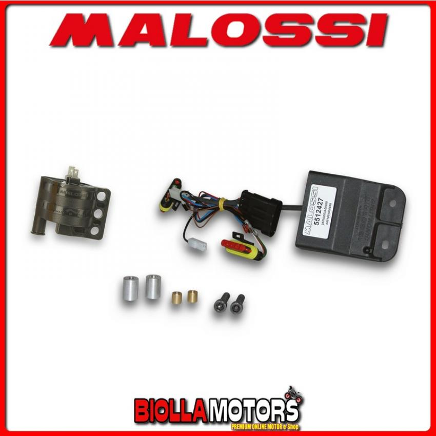 5512429 DIGITRONIC MALOSSI centralina elettronica digitale + BOBINA (euro 2)