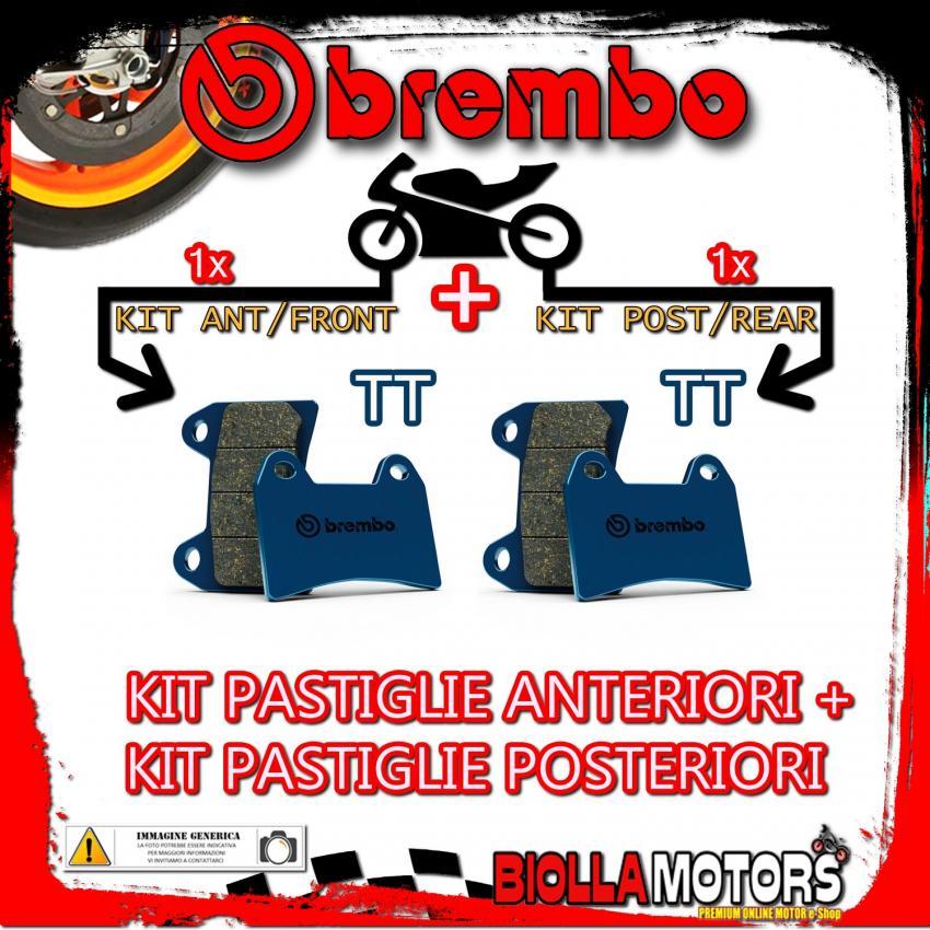 BRPADS-9529 KIT PASTIGLIE FRENO BREMBO MAICO GP 1989- 250CC [TT+TT] ANT + POST