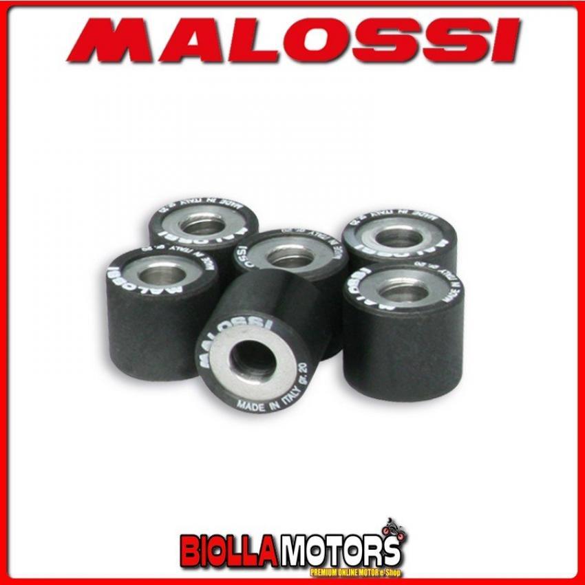 6 RULLI GR 20 KYMCO XCITING 500 4T LC  6613968.AO RULLI MALOSSI D.25 X 22,2