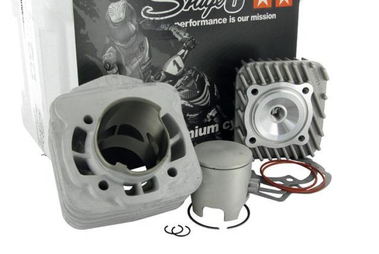 Italjet Dragster 50 KTM Ark 50/AC//LC Stage6/Pro Replica trasparente di scarico per Beta Tempo 50/AC