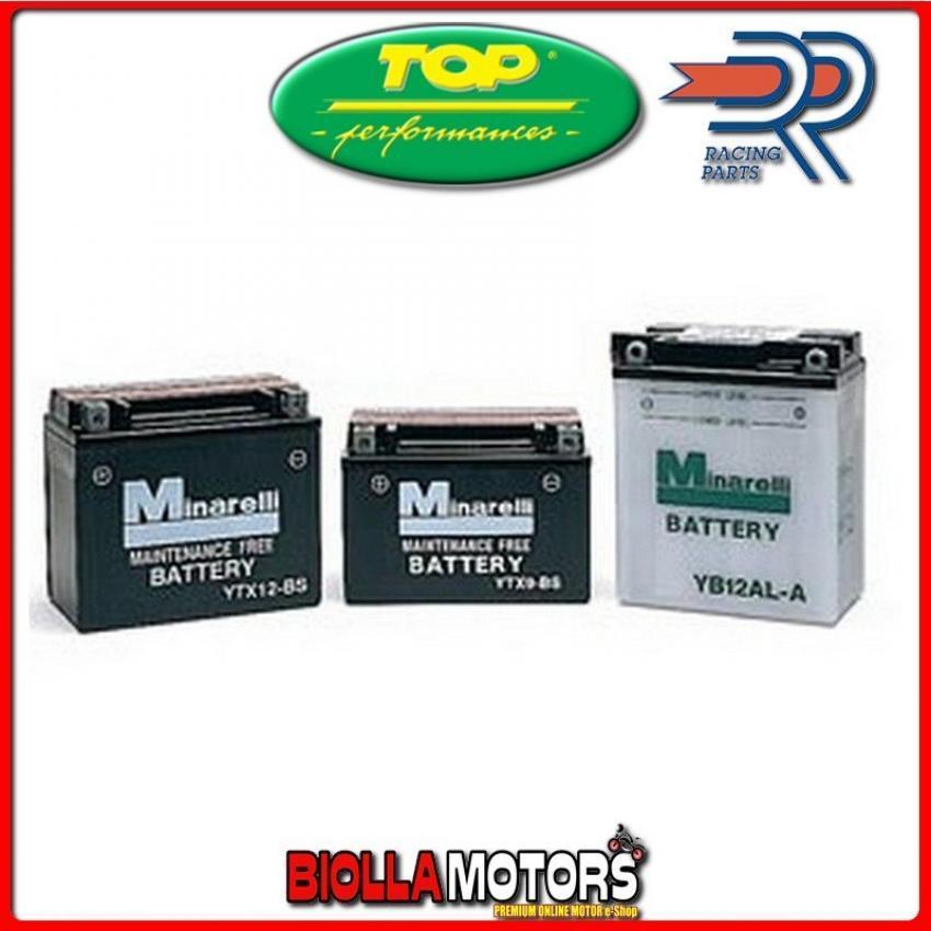 YB10L-A2 BATTERIA TOP 12V 11AH KAWASAKI Z650B1/B2/ZBSR 650 - 0012260 YB10LA2 [SENZA ACIDO]