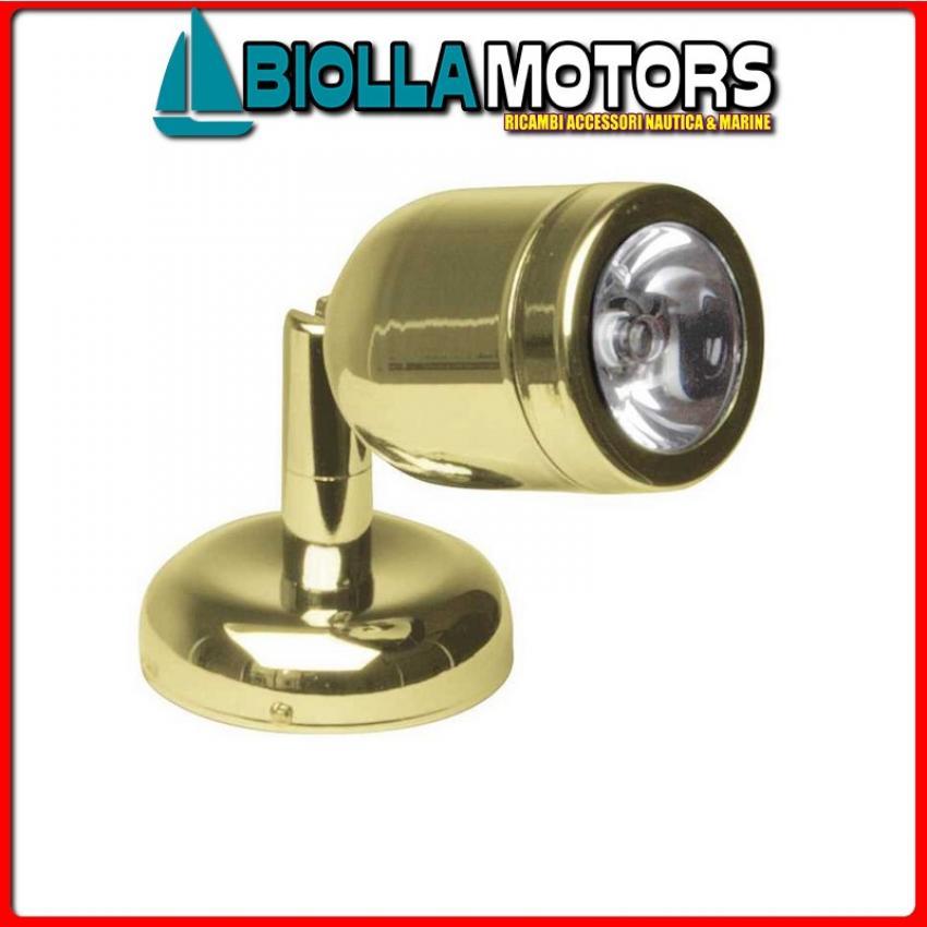 2144066 SPOT READY TAPER GOLD LED 1X3W 12/24 Spot Cap LED