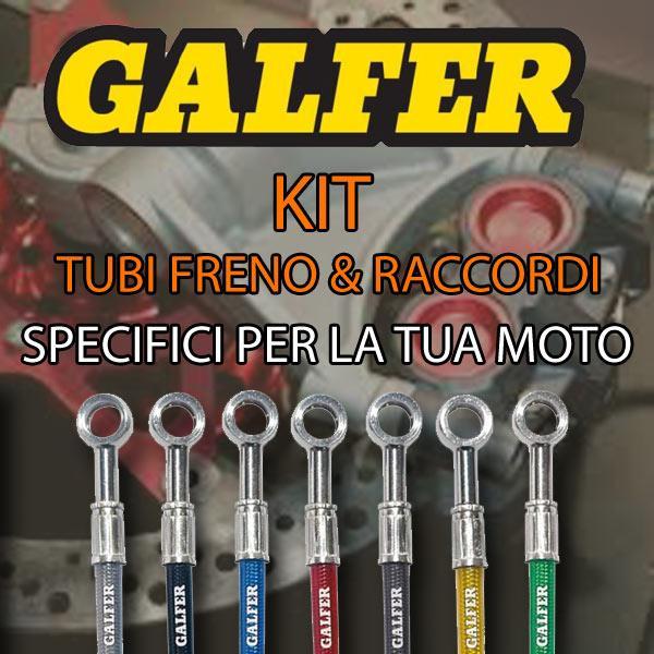 FK002C431 KIT TUBI FRENO GALFER ANT. YAMAHA FZ 6/6S- FAZER 600 (04-06)