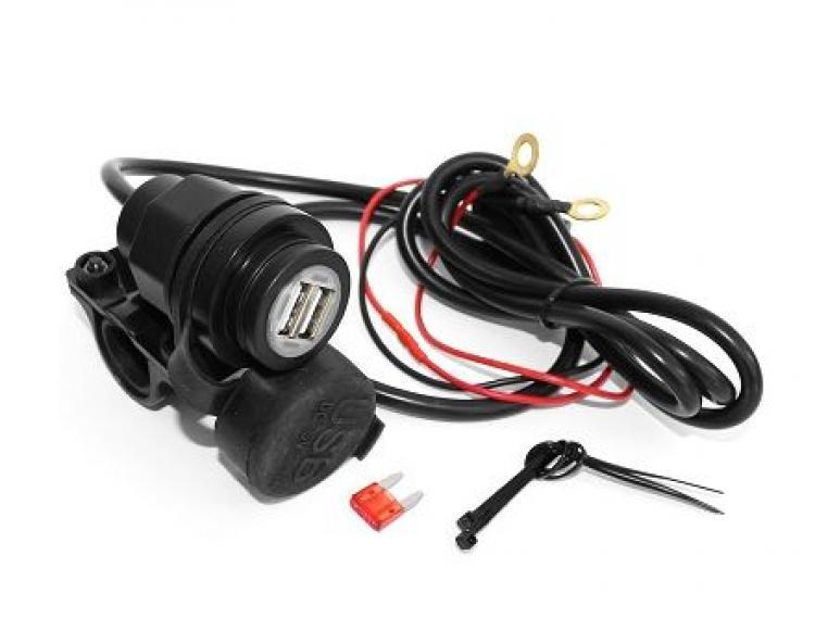 540016E USB chargeur SCOOTER/moto 12V/2.1 à