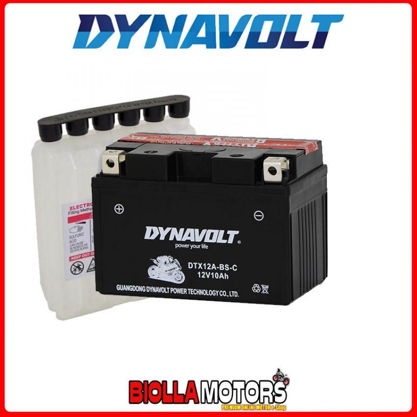 DTX12A-BS-C BATTERIA DYNAVOLT YT12A-BS SIGILLATA CON ACIDO YT12ABS MOTO SCOOTER QUAD CROSS