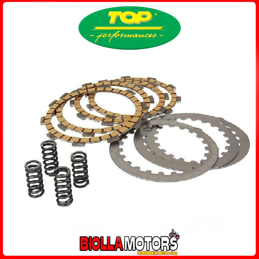 9921180 SERIE DISCHI FRIZIONE TOP PERFORMANCES CELLULOSA-KEVLAR HM CRE SIX, BAIA, DERAPAGE 50 2T 06-06