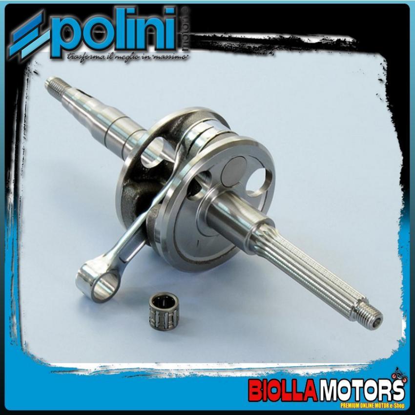 210.0049 - 210.0008 ALBERO MOTORE POLINI SPIN 10, BIELLA 80