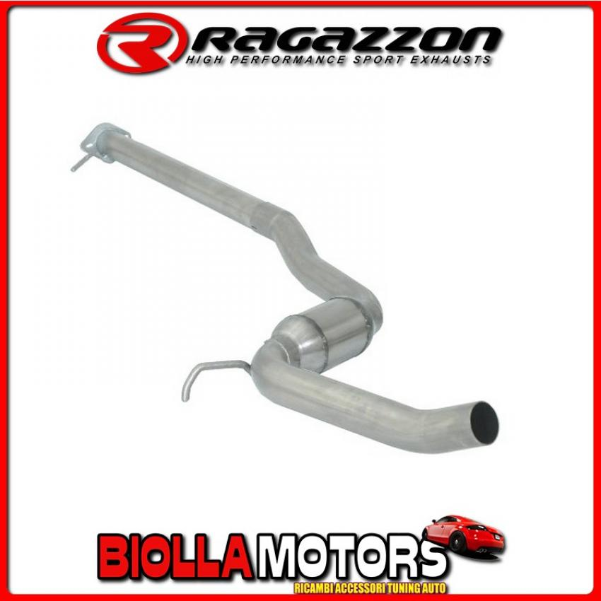 57.0037.00 SCARICO Evo Alfa Romeo GT(937) 2003>2010 2.0 JTS (122kW) 2004> Centrale inox