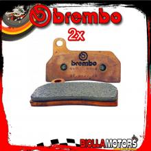 2-M057Z04 KIT PASTIGLIE FRENO BREMBO [Z04] XA1K480 - PINZA FRENO SX RADIALE BREMBO CNC MOTOCROSS P4 ?26/28 40mm - [ANTERIORE]