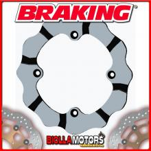 BY9009L DISCO FRENO POSTERIORE SX BRAKING CAN-AM MAVERICK X3 / TURBO / R 900cc 2017-2019 WAVE FLOTTANTE