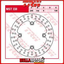 MST338 DISCO FRENO POSTERIORE TRW Honda CBF 500 2004-2007 [RIGIDO - ]