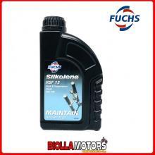 601450129 FLACONE 1 LITRO OLIO SOSPENSIONI FUCH SILKOLENE RSF 15 ISO 100