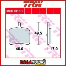 MCB811SH PASTIGLIE FRENO POSTERIORE TRW EBR 1190 RX 2014- [ORGANICA- ]
