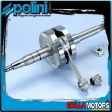 210.0023 ALBERO MOTORE POLINI BENELLI 491 50 RR, RACING, SP, SPORT BIELLA 85 - SP.12 - CORSA 44 Per variatore con spinotto da d.