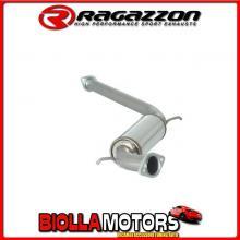 57.0009.00 SCARICO Evo One Alfa Romeo 166 2.4 JTD (100 / 103 / 110kW) 10/1998> Centrale inox