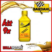 KIT 9X 500ML OLIO BARDAHL XTF FORK SPECIAL 20W OLIO PER FORCELLA 1/2 LT - 9x 444032