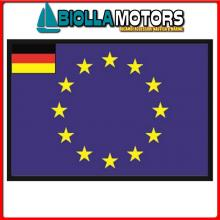 3401230 BANDIERA GERMANIA UE 30X45CM Bandiera Germania UE