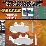 FD162G1651 PASTIGLIE FRENO GALFER PREMIUM ANTERIORI DERBI SENDA DRD 125 R RACING 06-