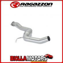57.0094.00 SCARICO Evo Alfa Romeo 156 GTA 3.2 I V6 (184kW) d.70mm Berlina + Sportwagon 2002> Centrale inox
