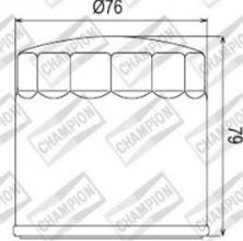 100609135 COF063 FILTRO OLIO BMW R1150 R Rockster Edition 80 04 (C312/301 - C313/301)