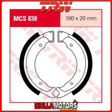 MCS838 GANASCE FRENO ANTERIORE TRW Suzuki LT-A 50 ATV MINI 2002-2005 [ORGANICA- ]