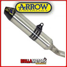 75089TK MARMITTA ARROW OFF-ROAD THUNDER BETA RR 520 2010-2014 TITANIO/CARBONIO