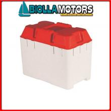 2030010 CASSETTA BATTERIA 350x220x290 Portabatteria in ABS (100A)
