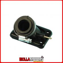 0012076 COLLETTORE CARBURATORE D.12-19 MOTOR HISPANIA FURIA 50 CROSS (AM6) 2005-2010