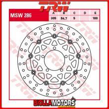 MSW286 DISCO FRENO ANTERIORE TRW Triumph 800 Tiger,TigerXC 2011- [FLOTTANTE - ]